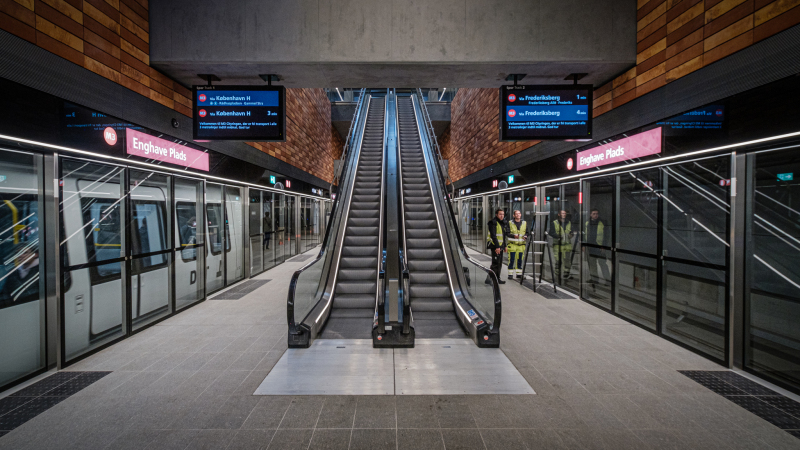 Enghave Plads Station