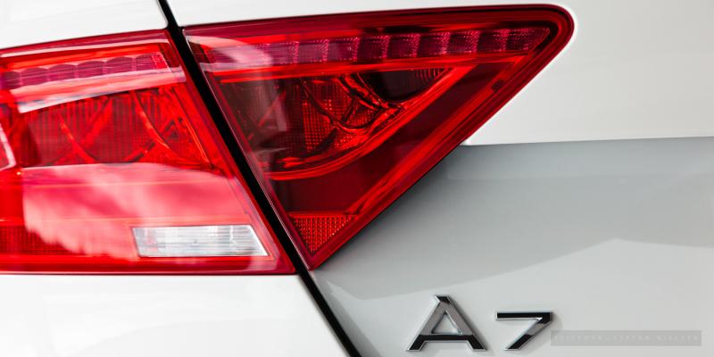 Audi A7 - Baglygte
