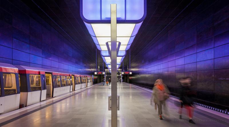 Station i Hamborg