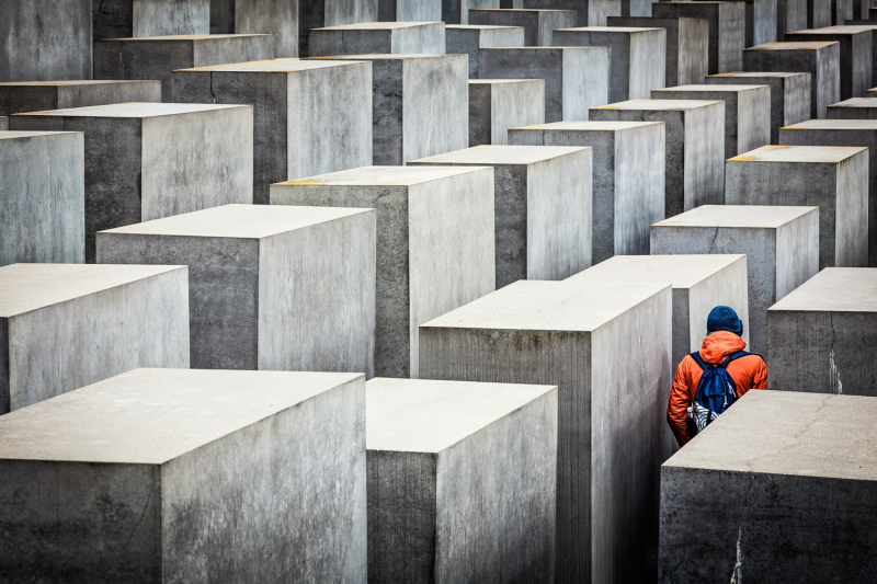 Holocaust monumentet i Berlin