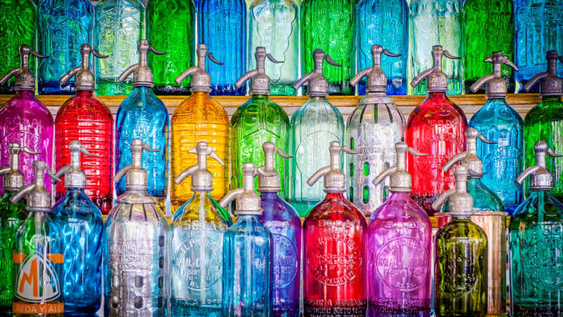 Sifon flasker