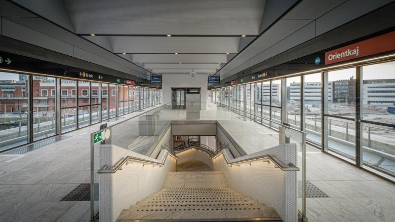 Orientkaj Metro Station