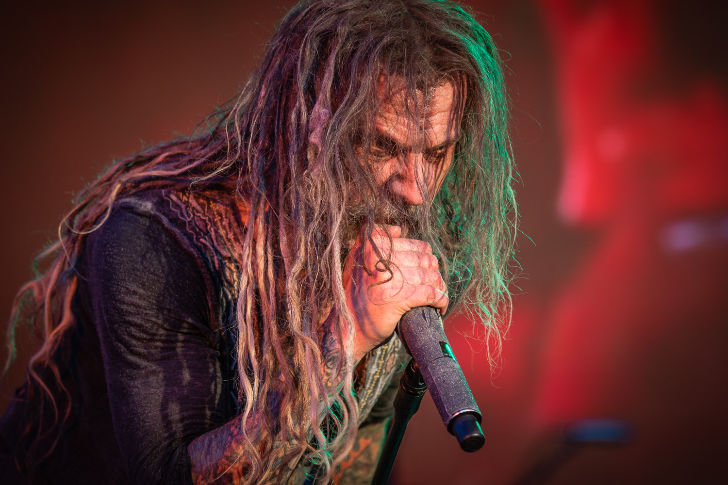 Rob Zombie live on stage at the 2019 Copenhell Metal Festival