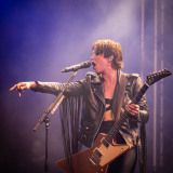 Halestorm live on stage at the 2019 Copenhell Metal Festival - here Lzzy Hale on guitar and vocals. @officiallzzyhale @halestormrocks