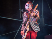 Rob Zombie live on stage at the 2019 Copenhell Metal Festival - here Piggy D on bass. @robzombieofficial @piggydofficial